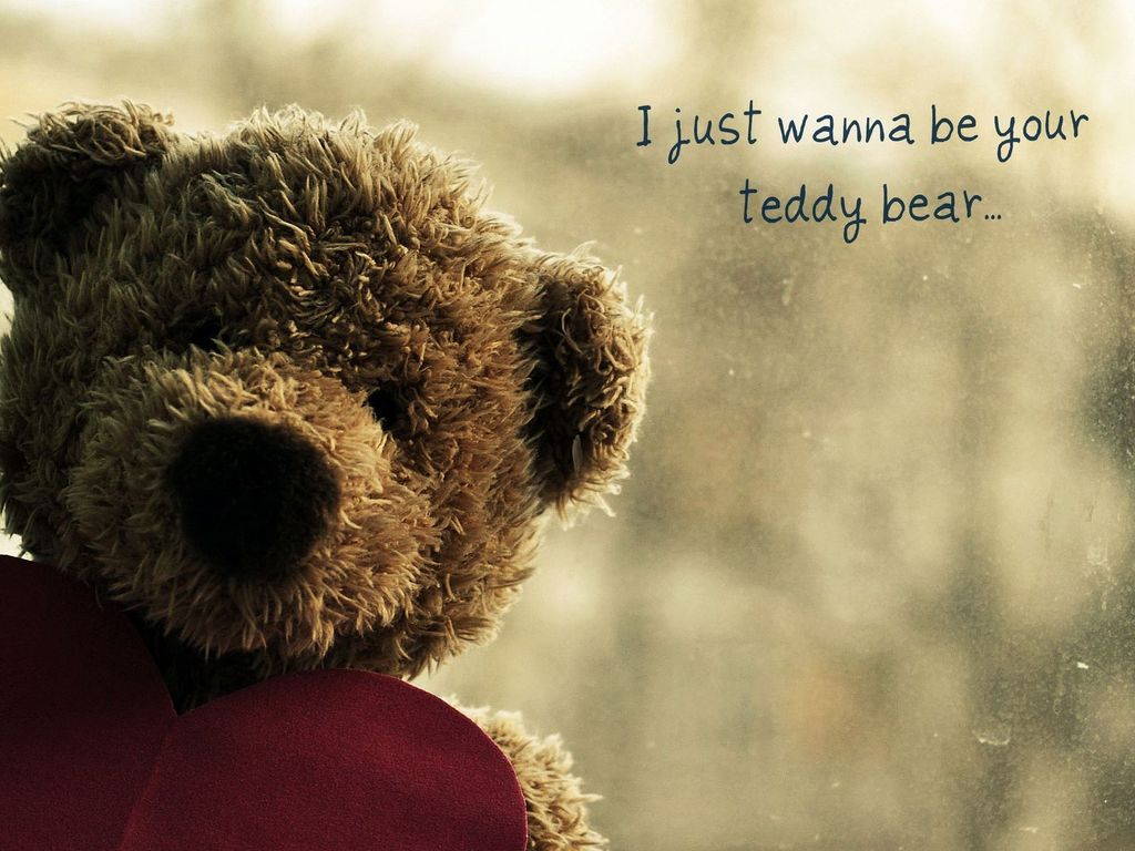 Lovely And Beautiful Teddy Bear Wallpapers: Love Teddy Bear Wallpapers