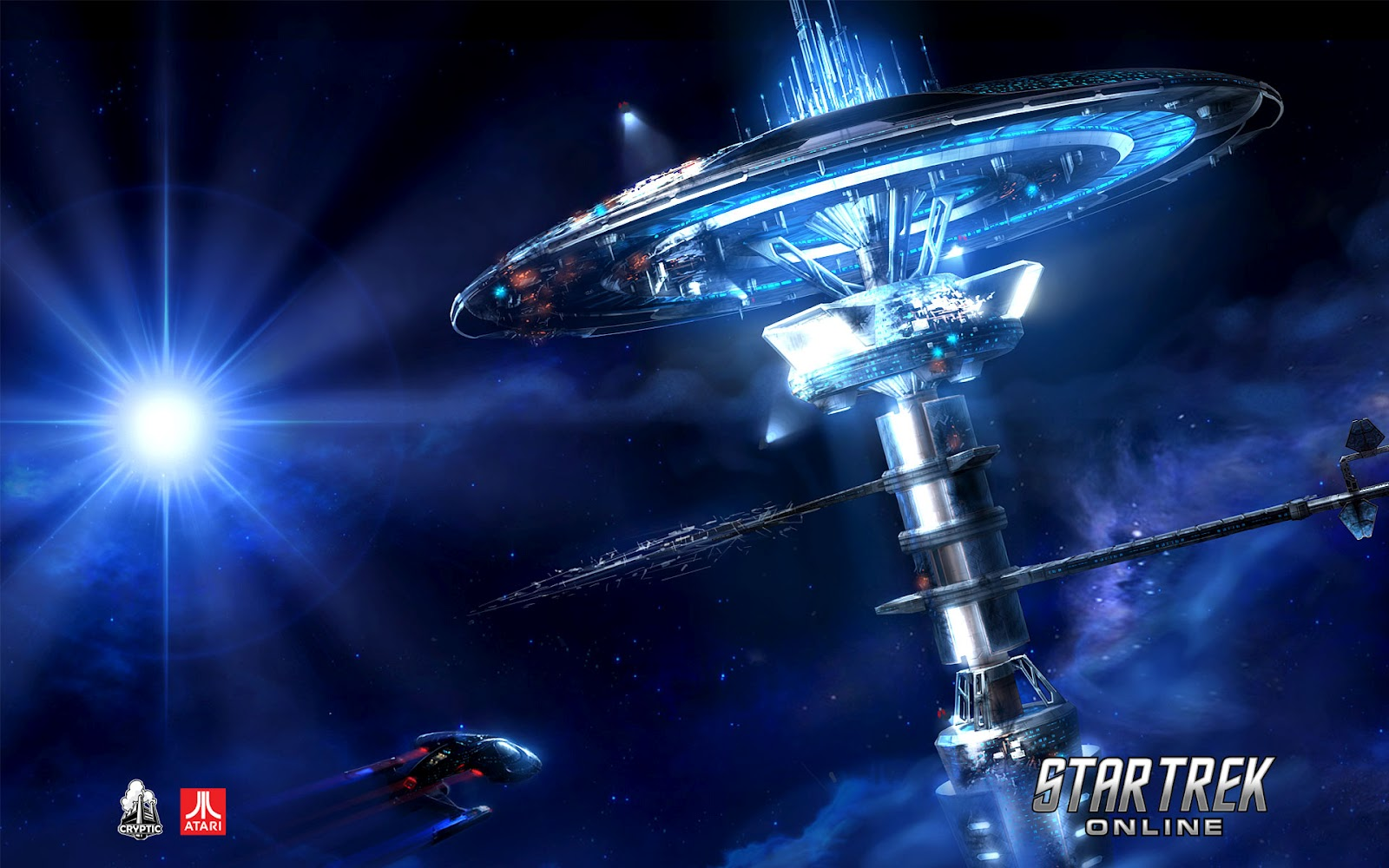 Wallpaper HD Star Trek online 1600x1000