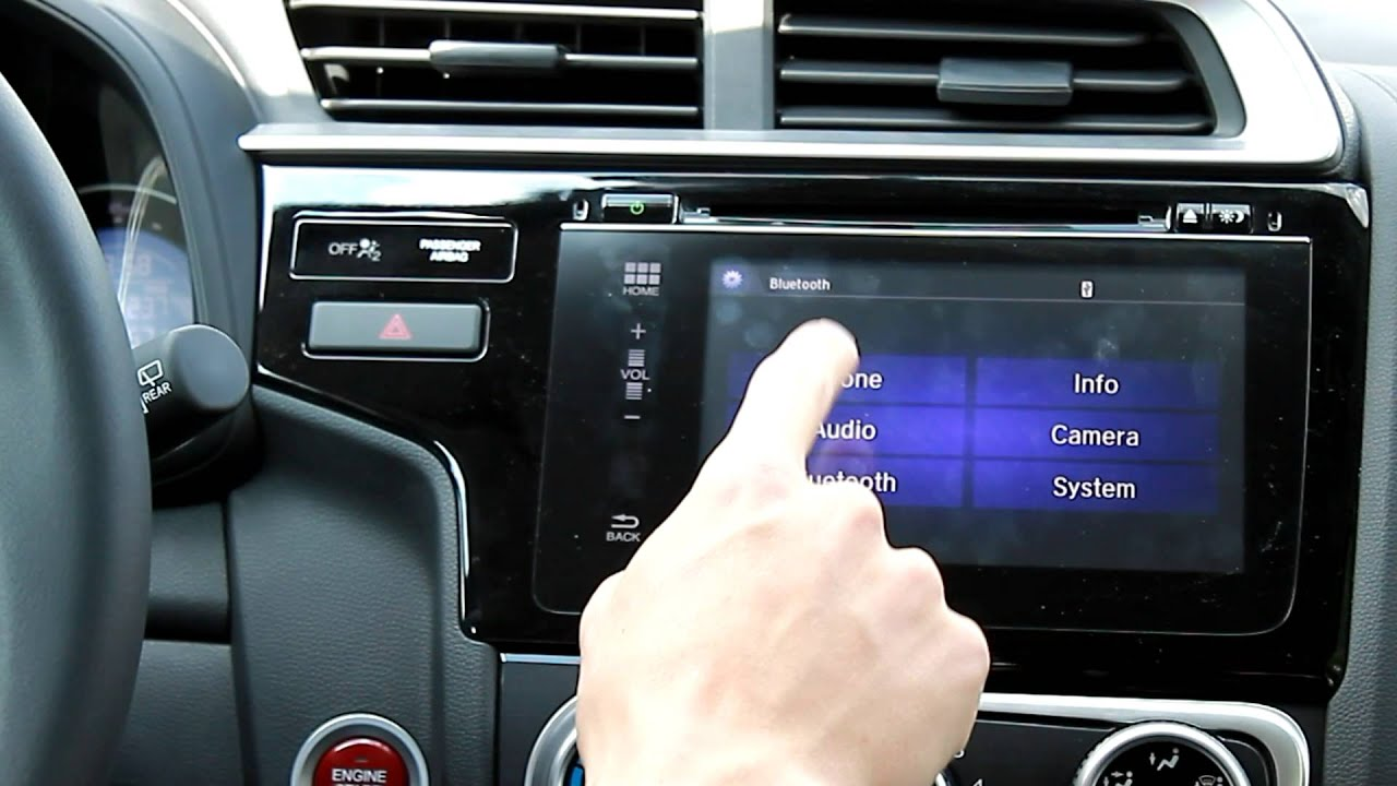How to change the wallpaper on Hondas 7 inch display 1280x720