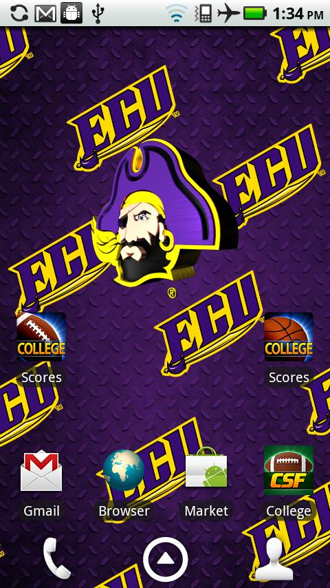 east carolina pirates live wallpaper with animated 3d logo background 480x854
