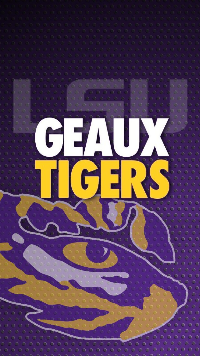 Geaux Tigers LSU iPhone 5 Wallpaper 640x1136 640x1136