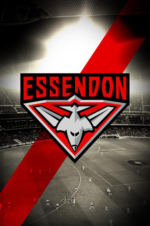 14] Essendon Football Club Wallpapers on WallpaperSafari 640x960