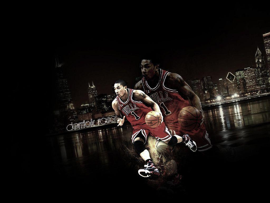 Derrick Rose Backgrounds 1024x768