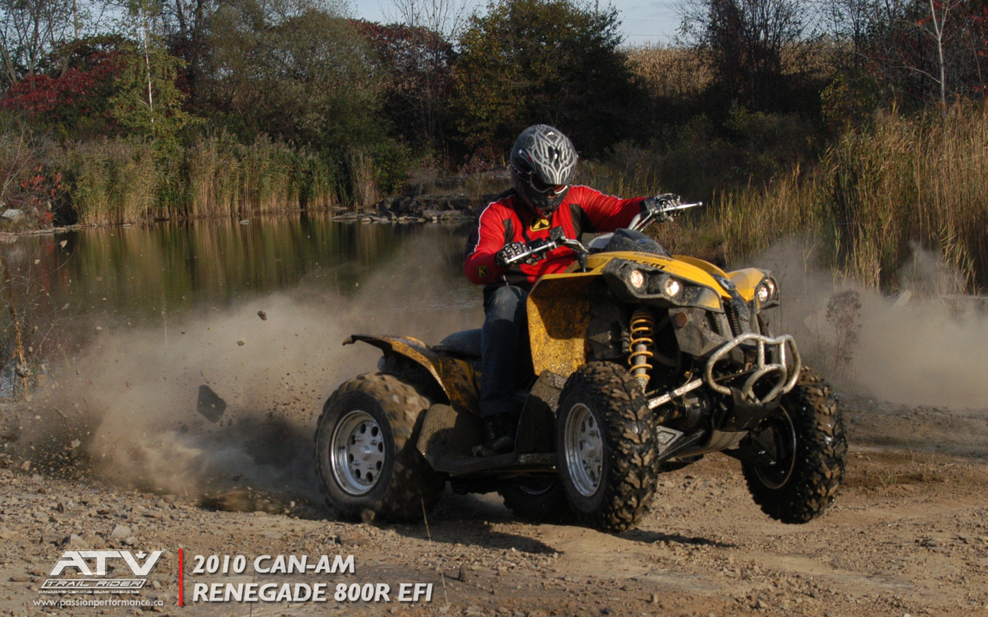 Wallpapers   Can Am Renegade   ATV Trail Rider 1440x900