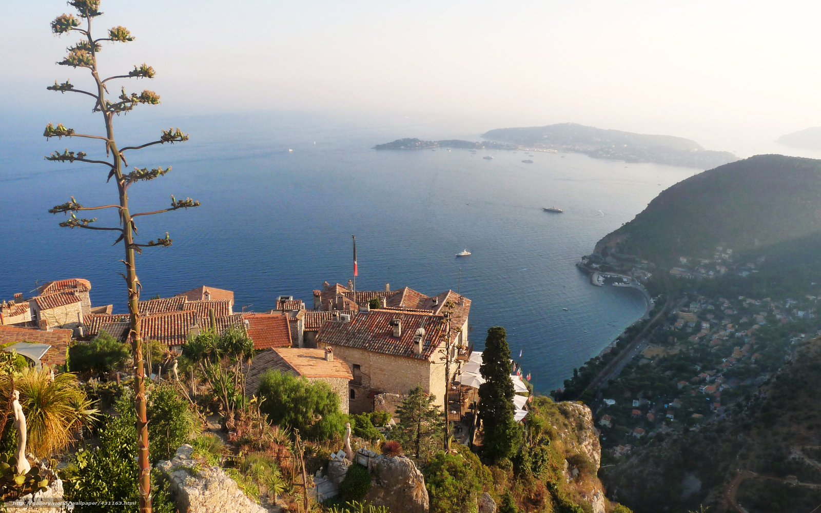 Free Download Wallpaper Cote Dazur French Riviera France Sea