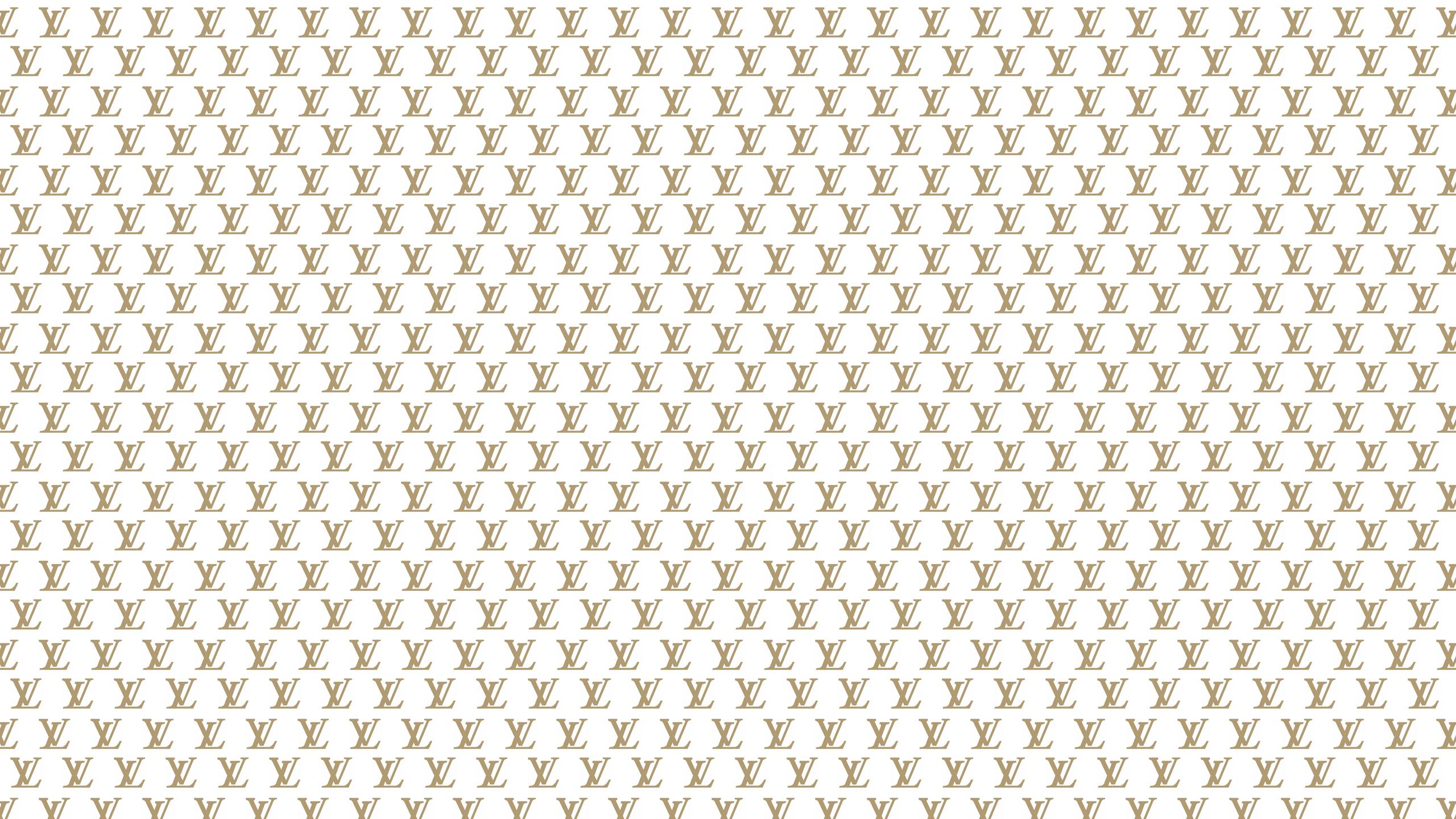 Louis Vuitton Damier Wallpaper Hd Black 2560x1440