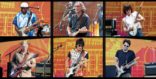 Top Buddy Guy Eric Clapton Jeff Beck Bottom Derek Trucks Ronnie 640x324