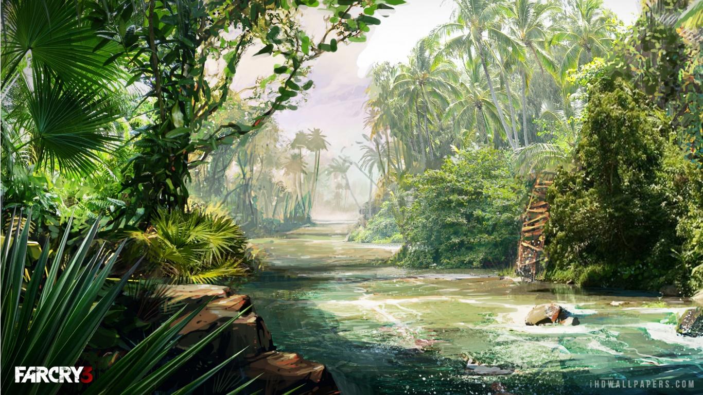 Hd wallpaper jungle - Far Cry 3 Jungle Hd Wallpaper Ihd Wallpapers