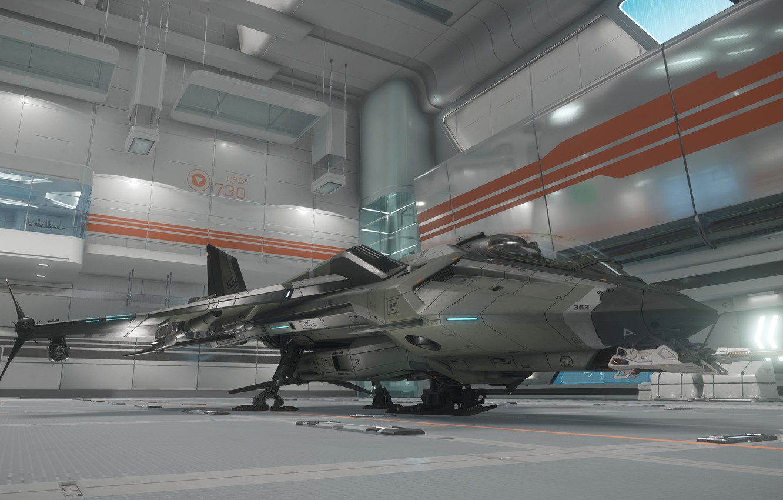 Wallpaper station starship Star Citizen Gladius images for 1332x850