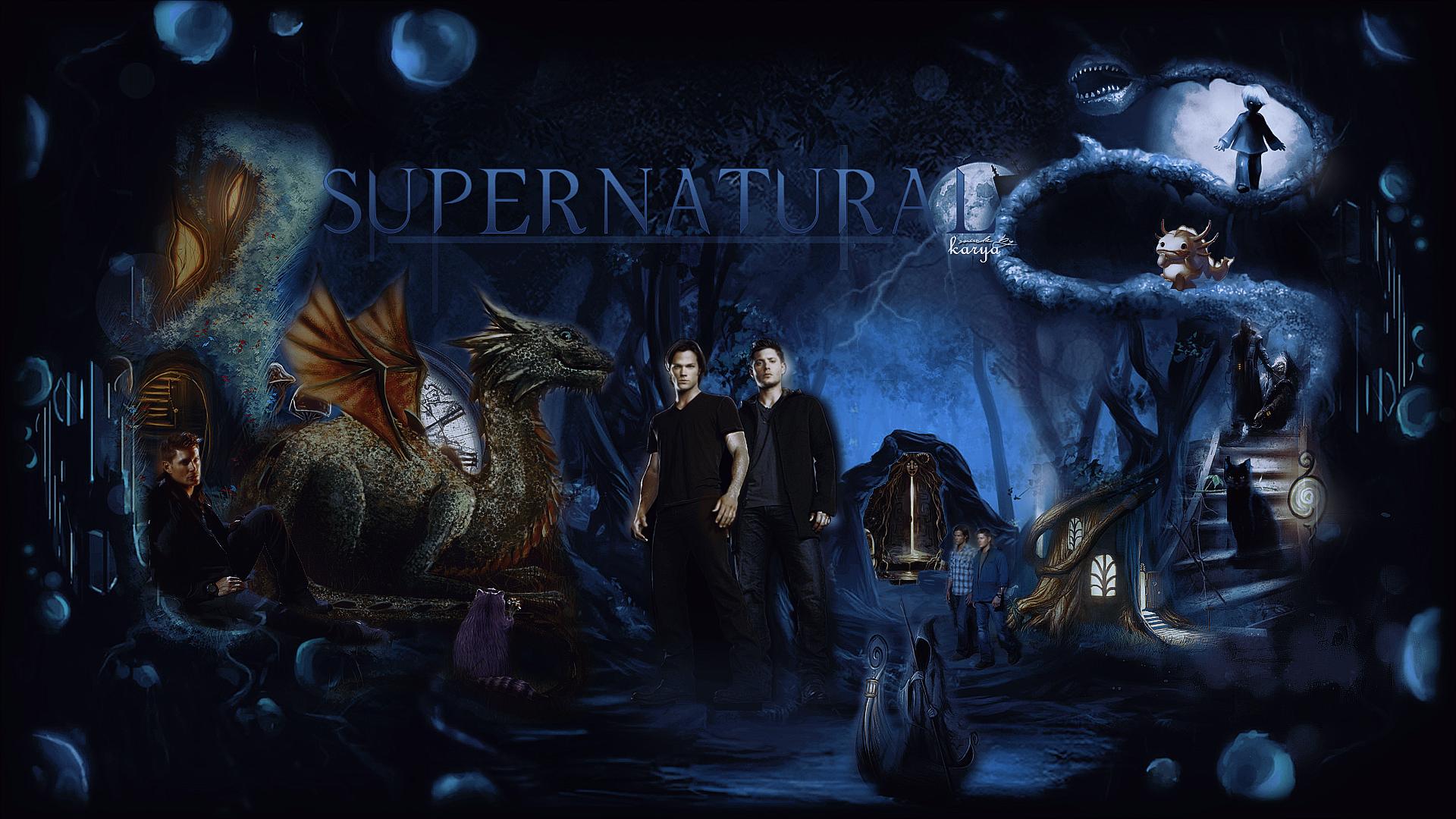 supernatural wallpaper livejournal justromanova photo 1920x1080