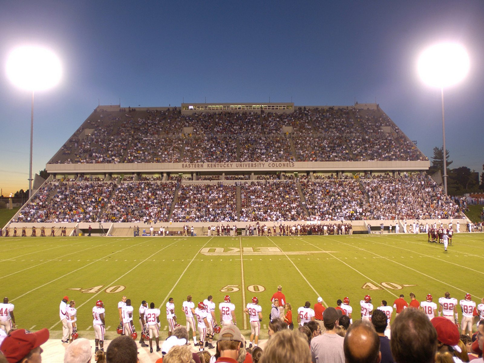 Ohio Valley Conference College Football Stadiums Wallpapers 1600x1200
