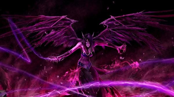 angel league of legends morgana the fallen angel Angels Wallpapers 600x337