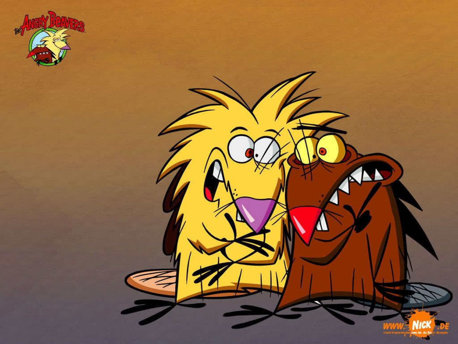 Angry beavers wallpapers and images   wallpapers pictures 1920x1440