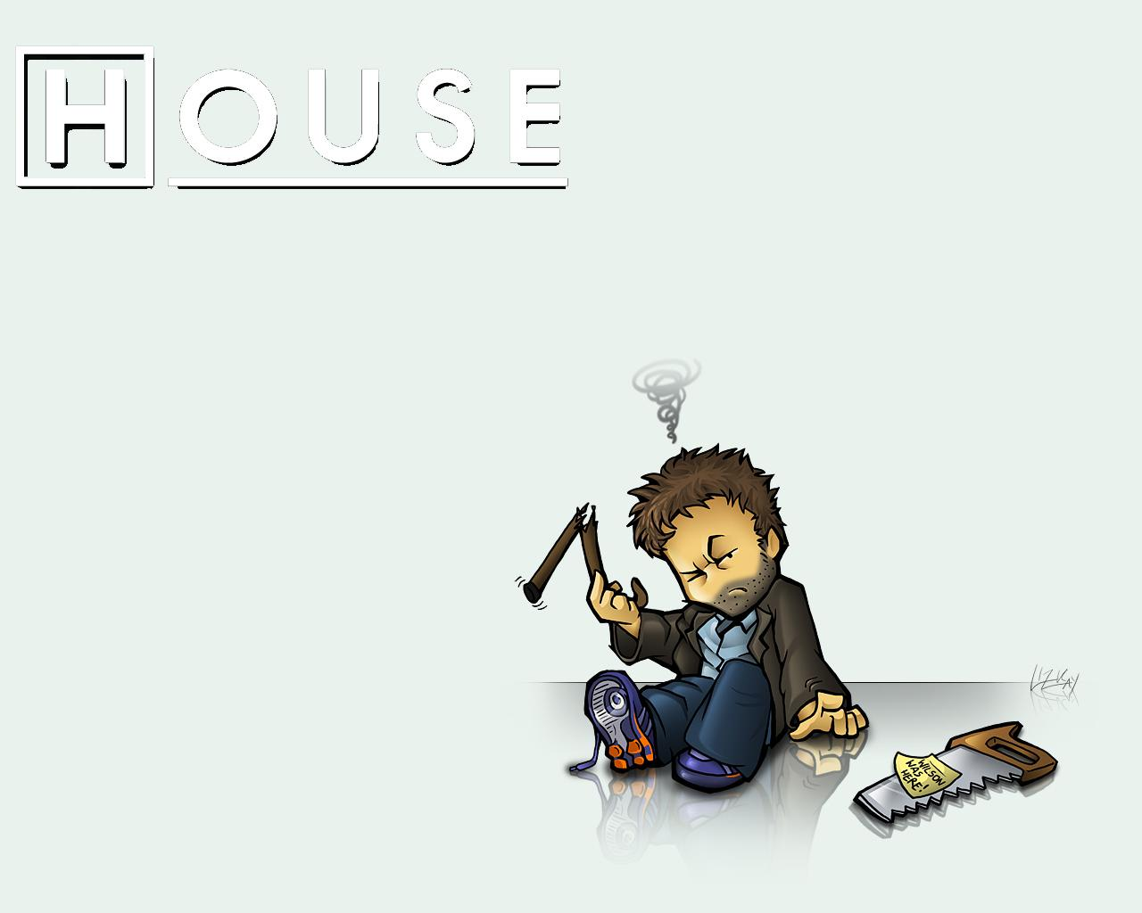 Dr House Wallpaper 1280x1024 Dr House Hugh Laurie Gregory House 1280x1024