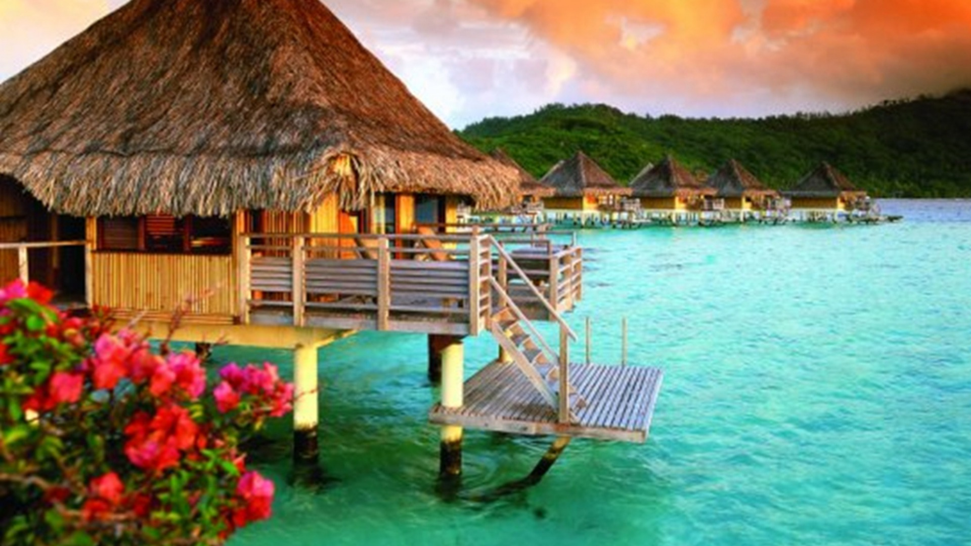 Bora Bora Hd Wallpaper HD Wallpaper 1920x1080