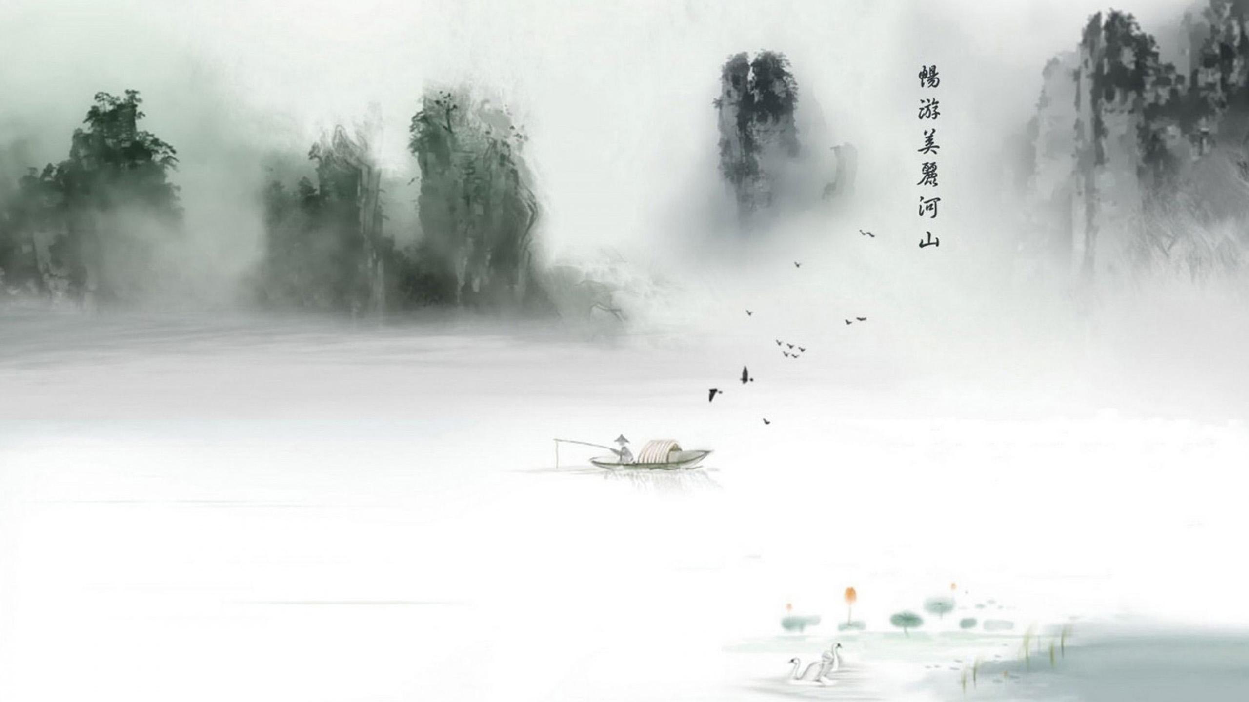 chinese garden wallpaper in hd - photo #43
