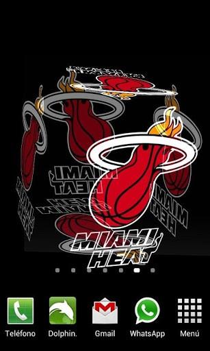 View bigger   3D Miami Heat Live Wallpaper for Android screenshot 307x512