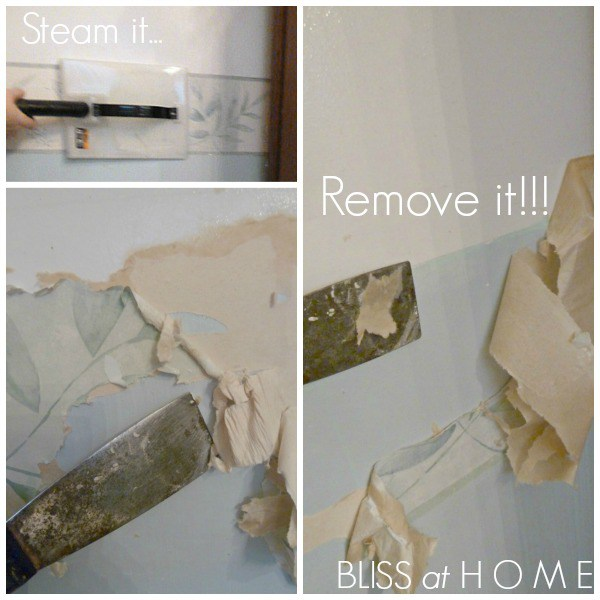easiest way to remove wallpaper i have a whole wall of paper to remove 600x600