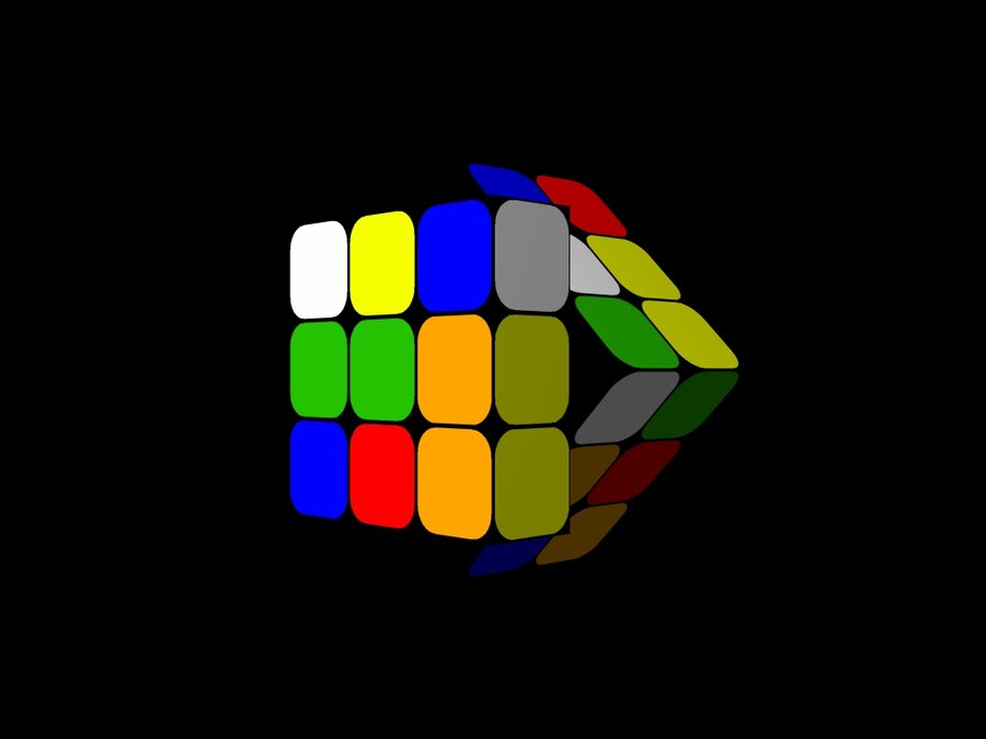 Free Download Rubiks Cube Wallpaper 02 By He4rty 900x675