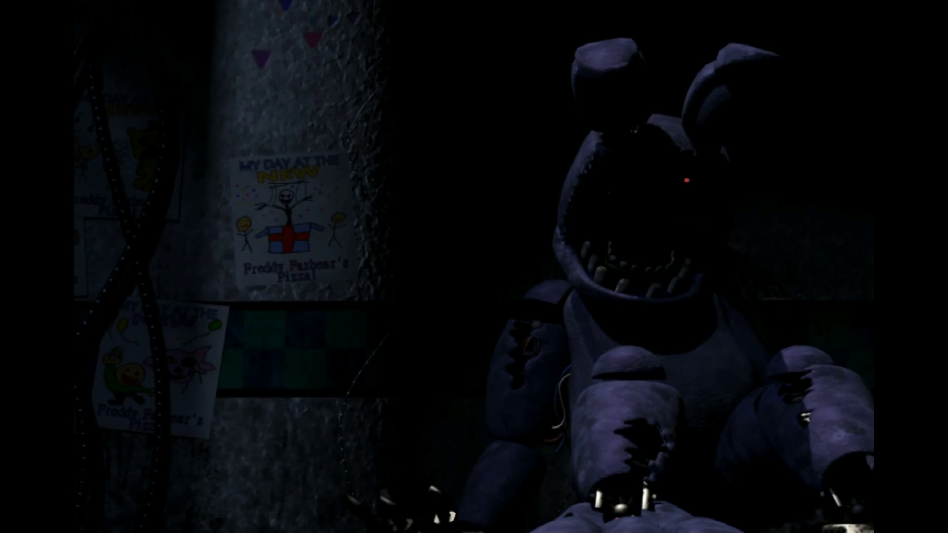 Image   FNAF 2 Old Bonniepng   Five Nights at Freddys Wiki   Wikia 1920x1080