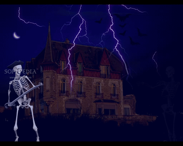 Haunted House Screensaver 700x560