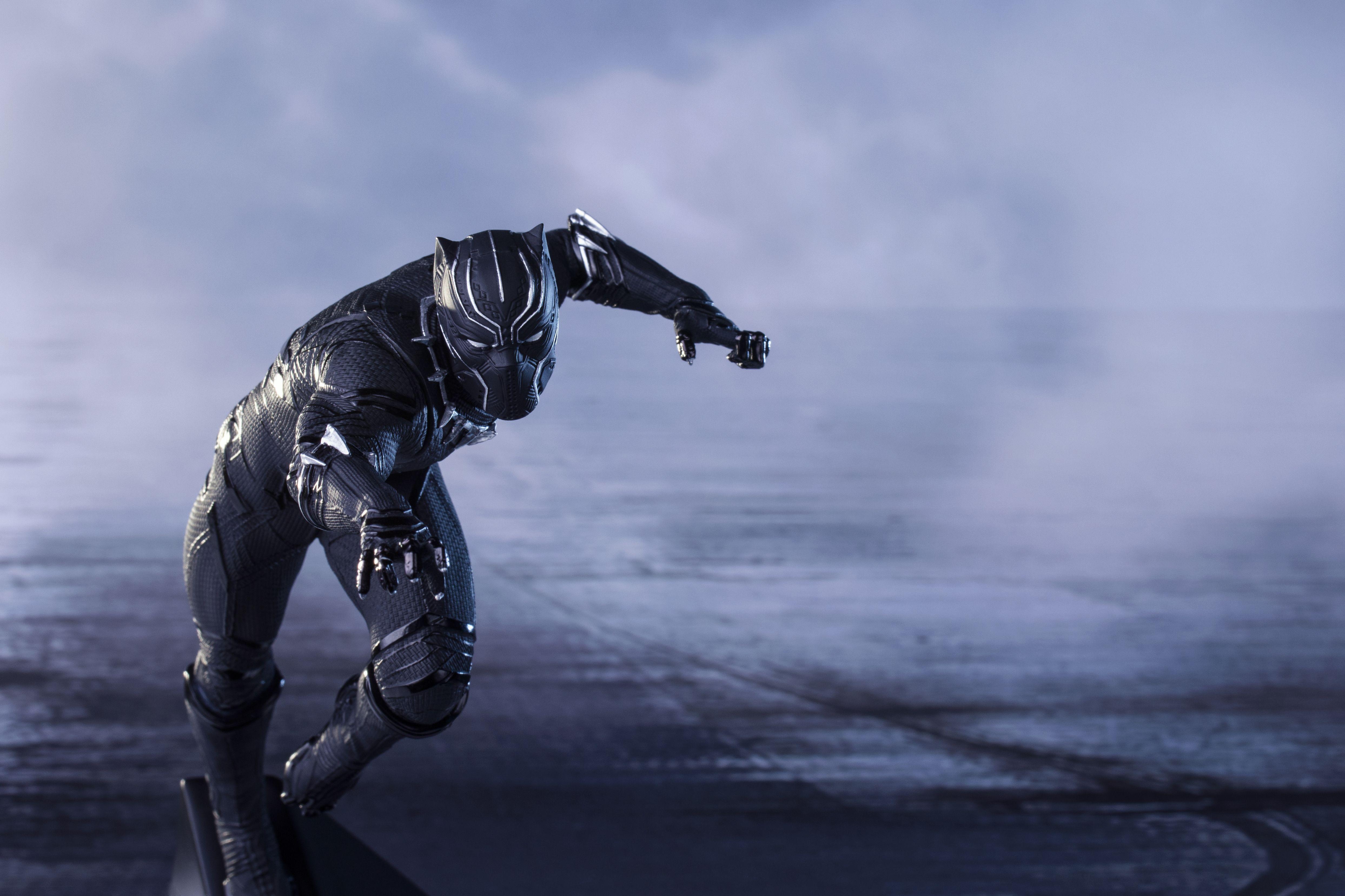132811 Black Panther 4K Captain America Civil War Movies 4974x3316