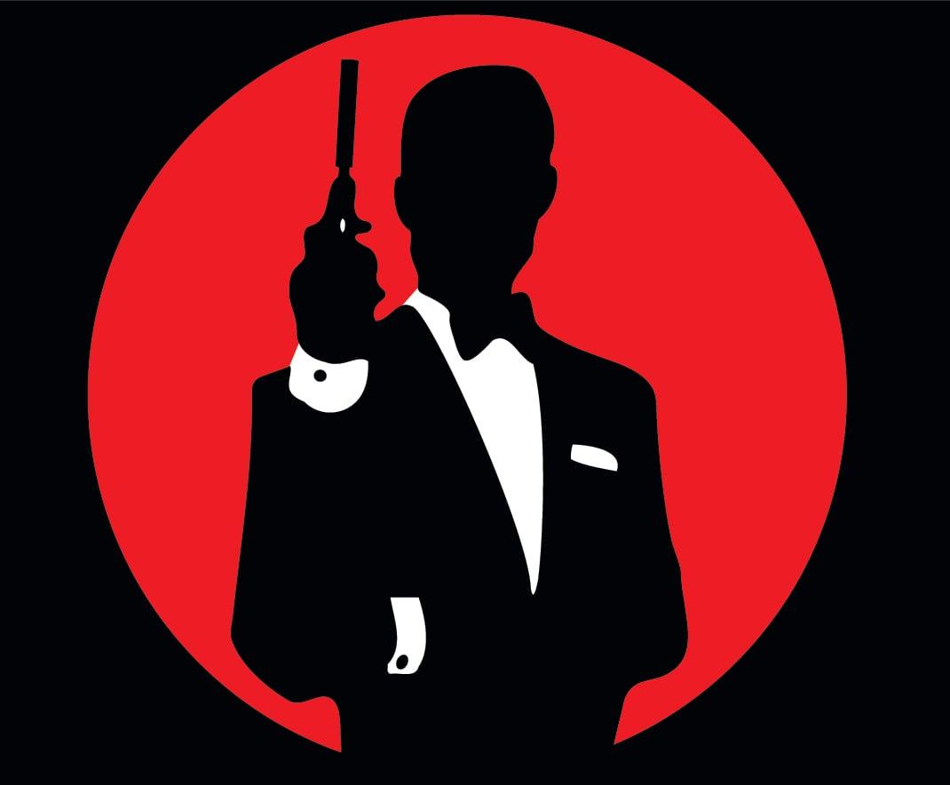 Pin James Bond 007 Logo 1070x884