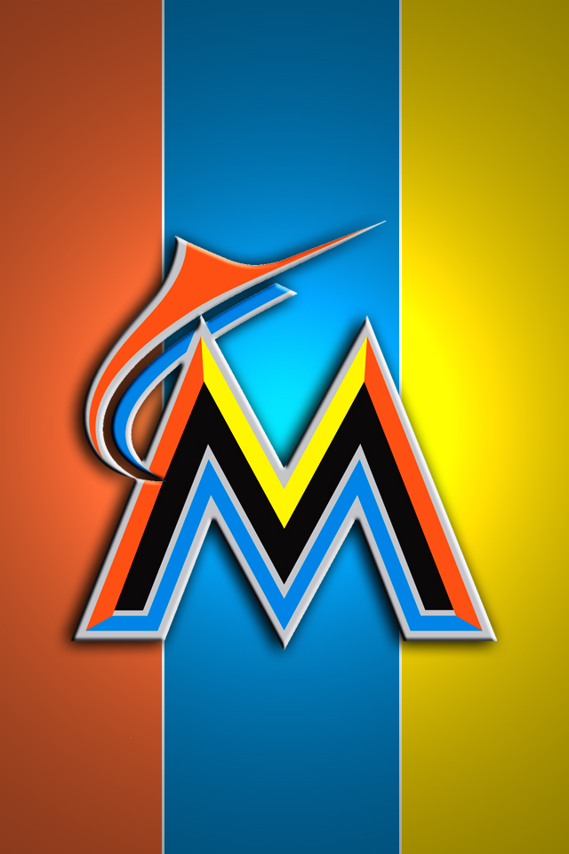 Miami Marlins IPhone Wallpaper Market Your Corp 640x960
