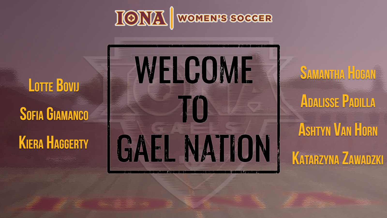 Womens Soccer Adds Seven Newcomers to 2019 Roster   Iona College 1600x900