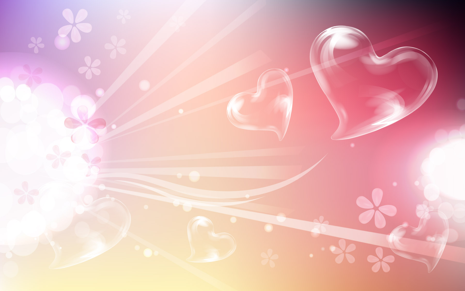 heart shape animated qrjtj background valentine wallpapers 1920x1200