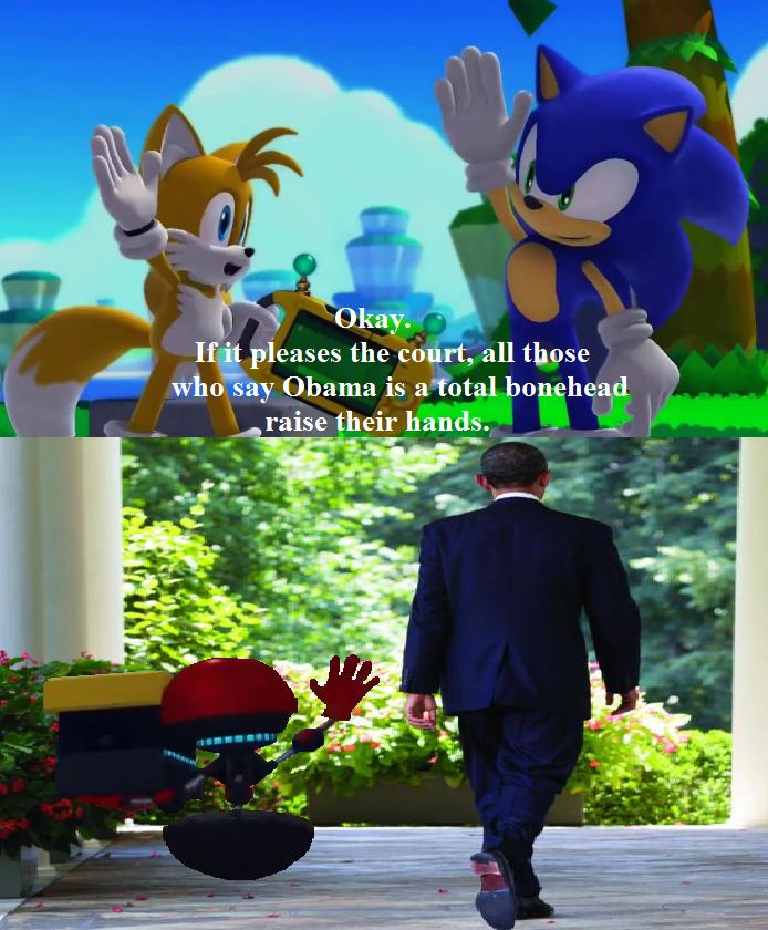 Sonic Anti Obama by SweetGems on deviantART 694x840