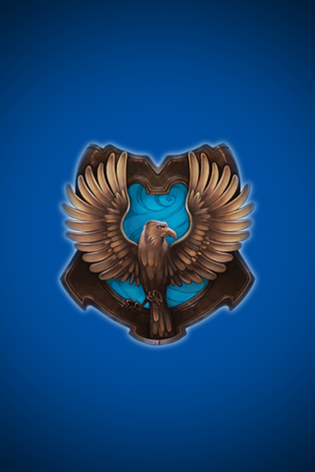 Ravenclaw iPhone wallpaper 1 by technoKyle 640x960