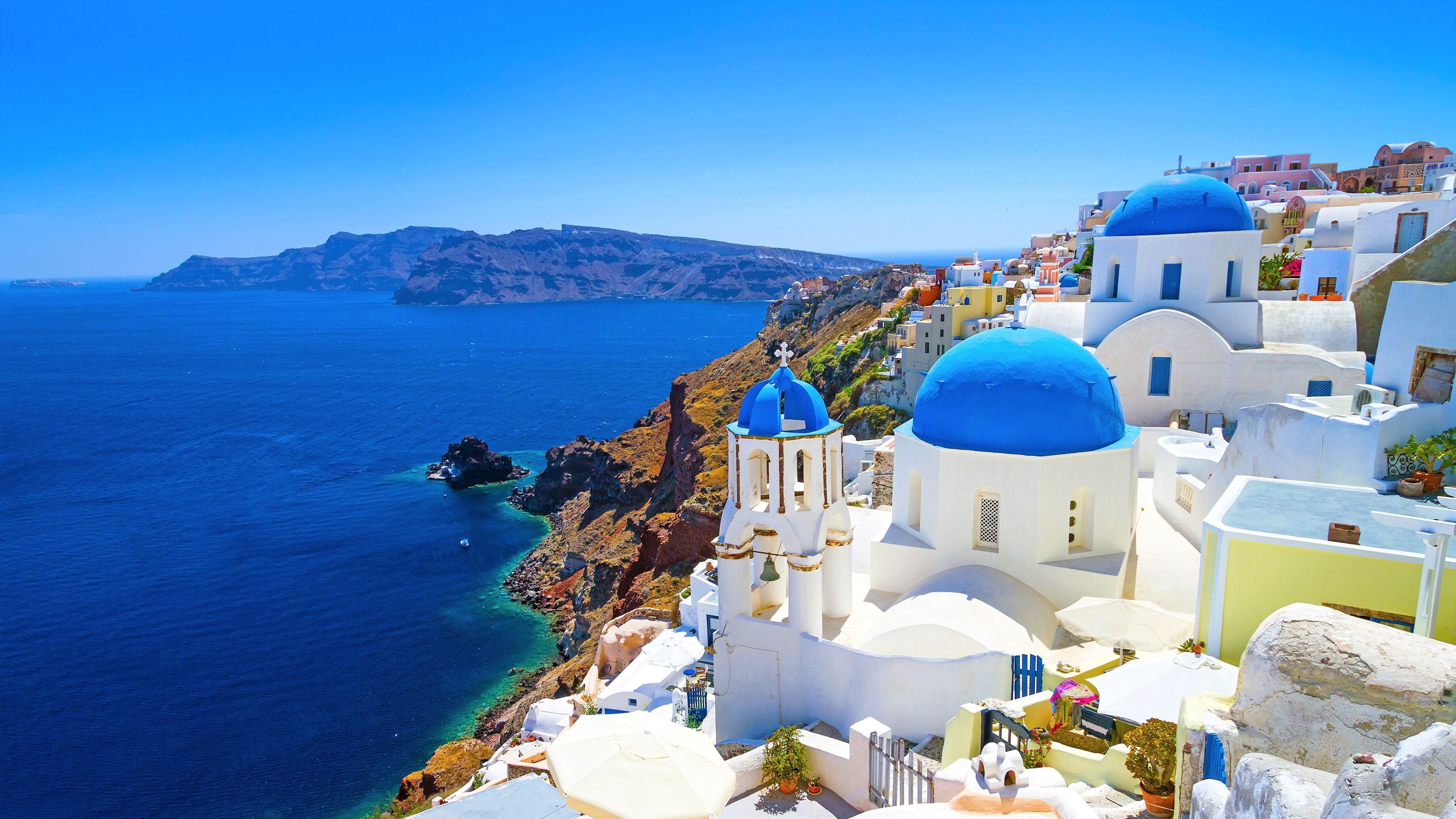Greece 4K Wallpapers   Top Greece 4K Backgrounds 3840x2160