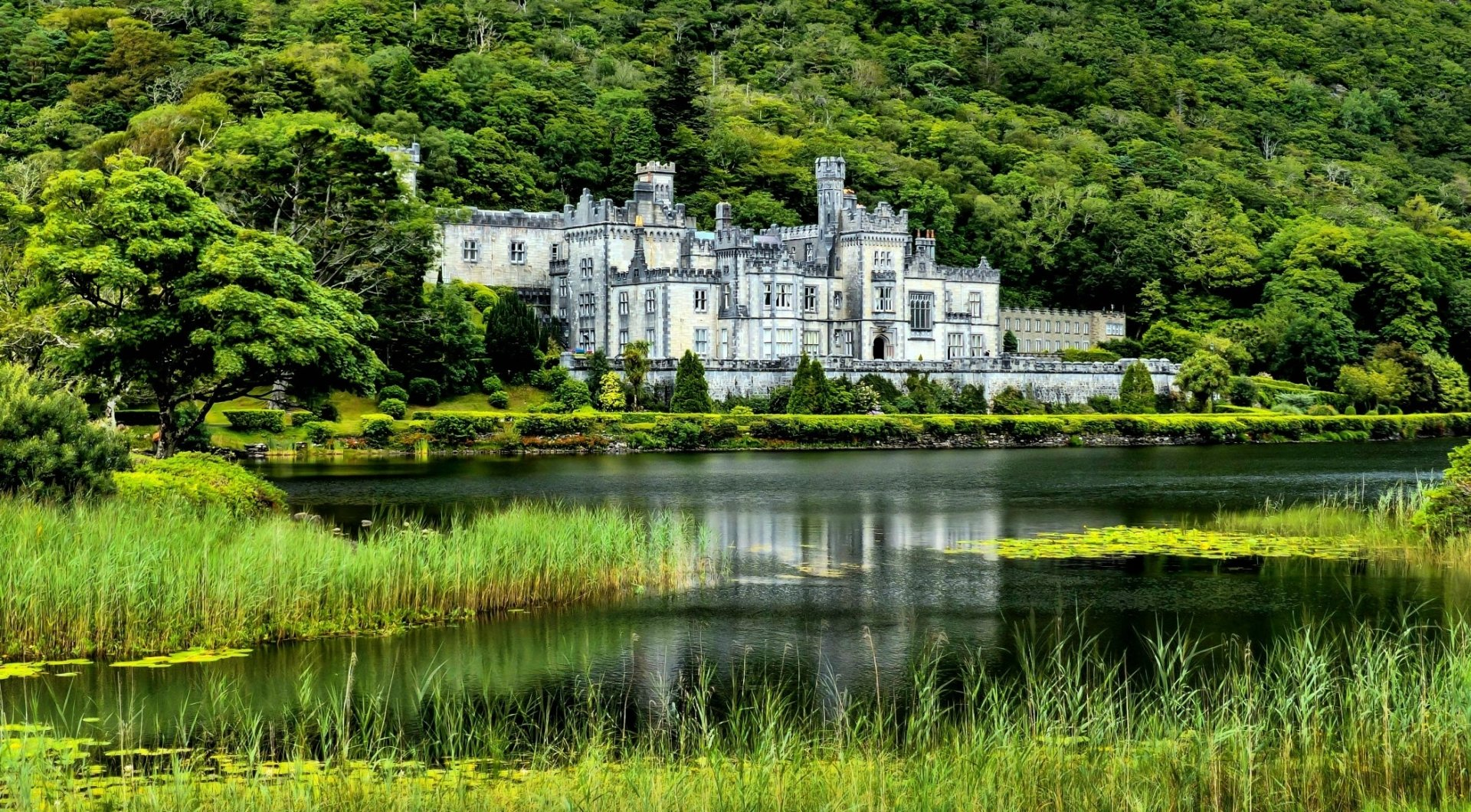 18 Kylemore Abbey HD Wallpapers Background Images 1920x1060
