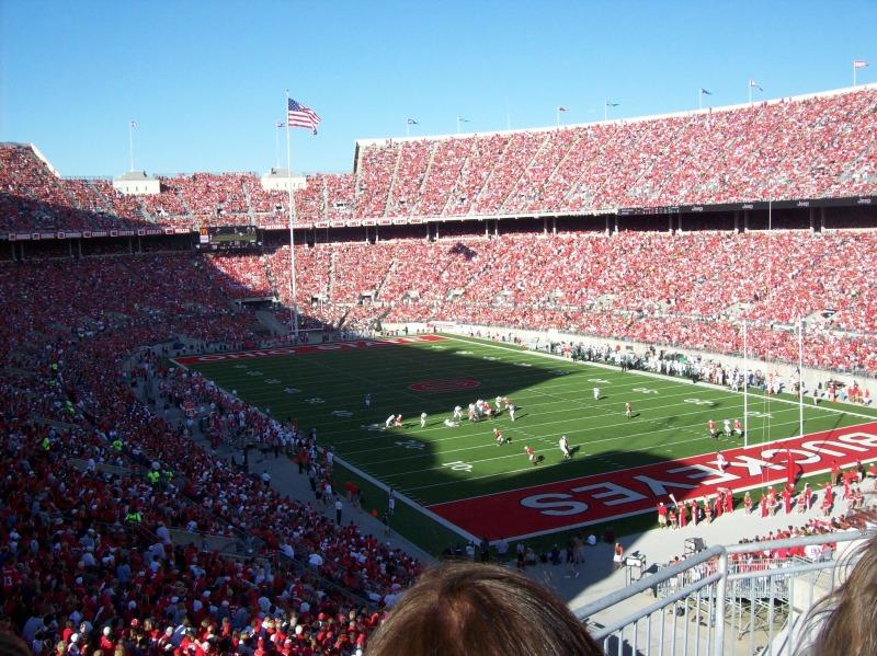 Ou Stadium Wallpaper Ohio During A 800x599