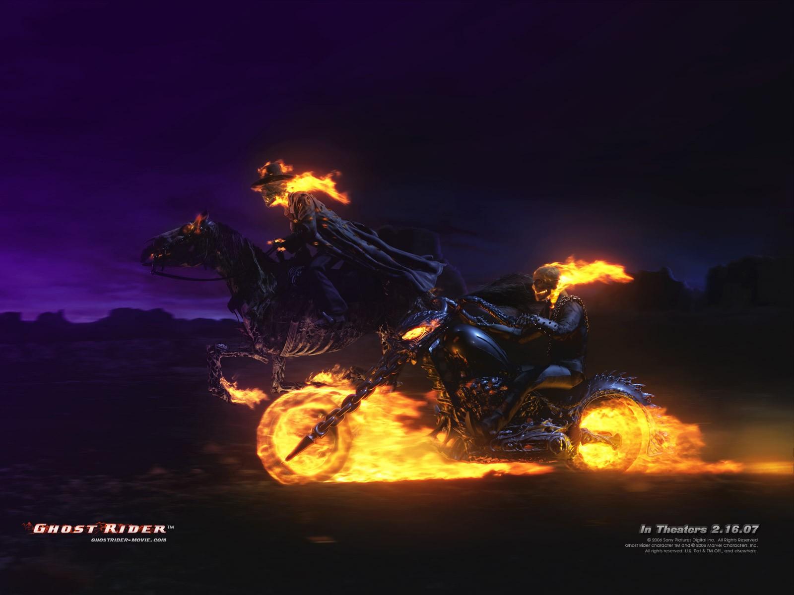 Ghost Rider 9 Wallpaper Hd 3D 1600x1200