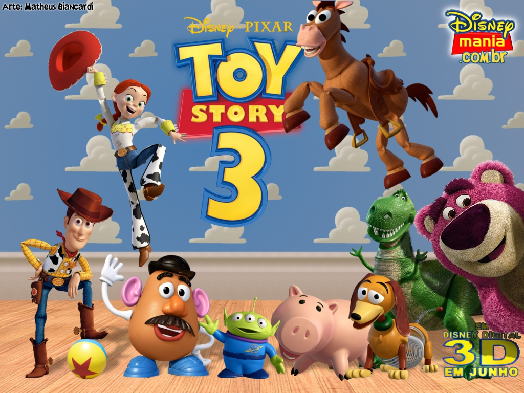 Toy story original movie poster