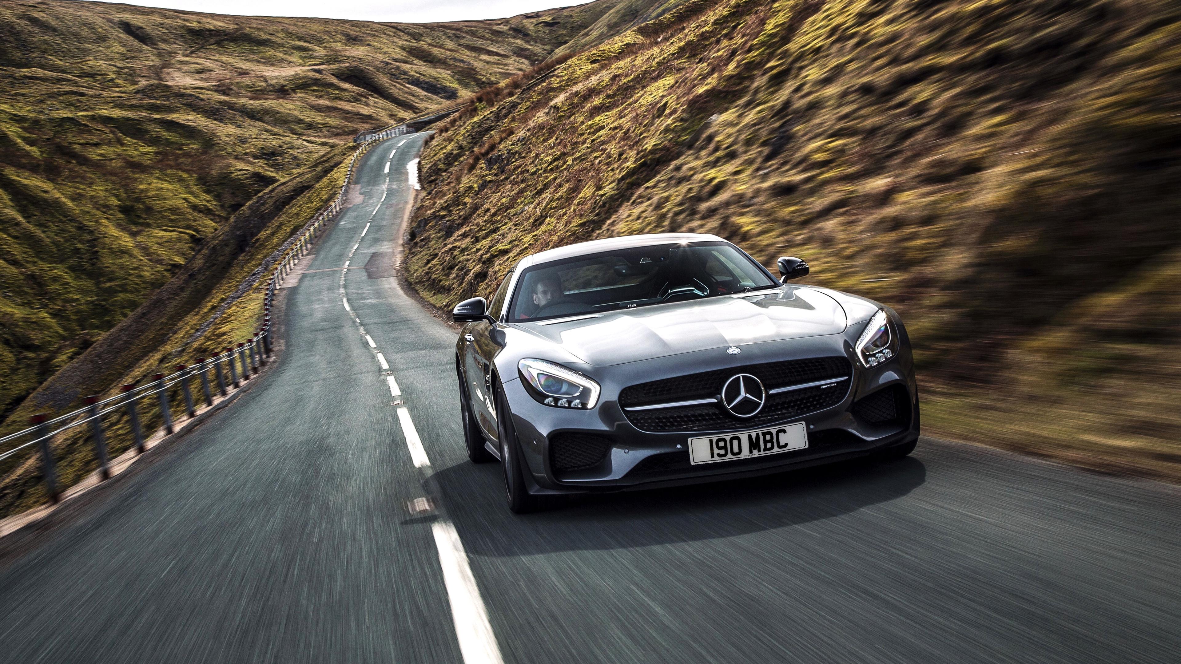 2015 Mercedes AMG GT S UK Spec Wallpaper HD Car Wallpapers 3840x2160
