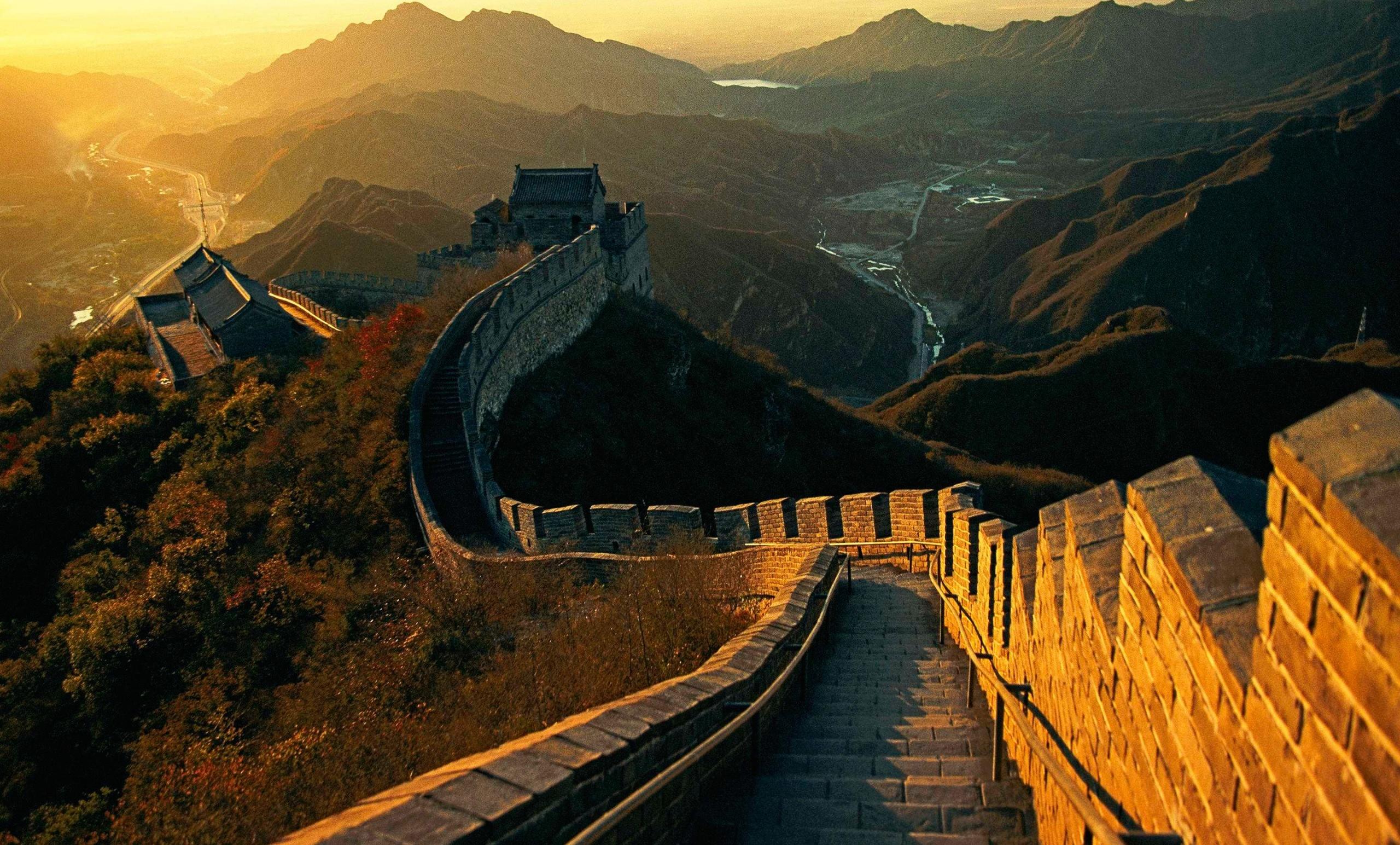 The Great Wall Of China Wallpaper Wallpapersafari