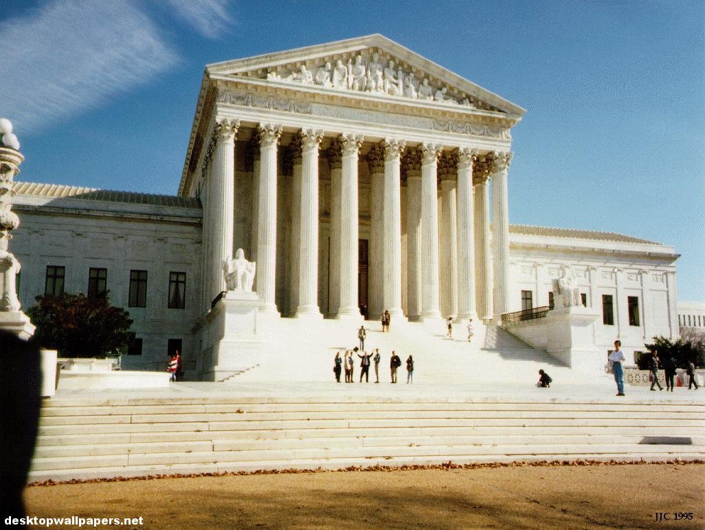 The Supreme Court   Washington DC at desktopWallpapers 1026x771