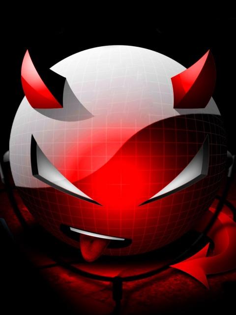 free 480X640 Red Devil 480x640 wallpaper screensaver preview id 84567 480x640
