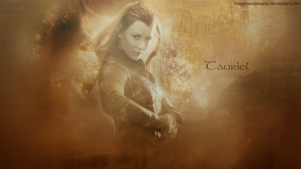 tauriel wallpaper tauriel by serenaserlene tauriel wallpaper tauriel 1024x576