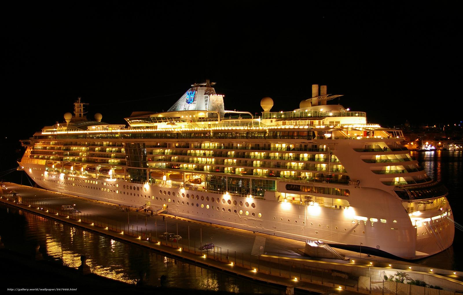 scaricare gli sfondi Royal Caribbean nave da crociera Brilliance of 1600x1020
