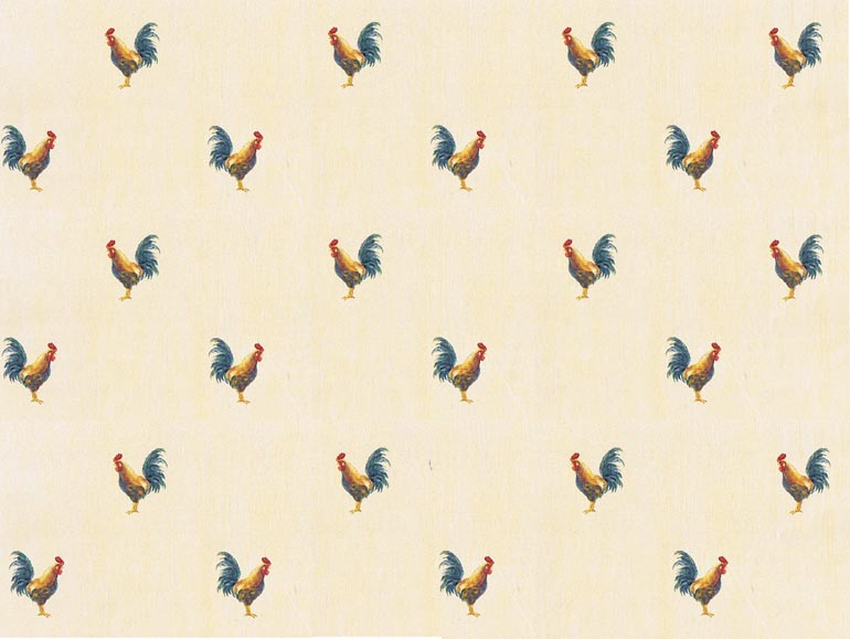 Details about KITCHEN Roosters Country Wallpaper KC18589 770x579