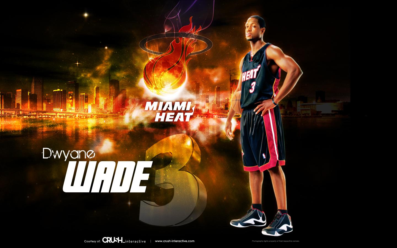 Dwyane Wade 1   Miami Heat by snapper1200 1440x900
