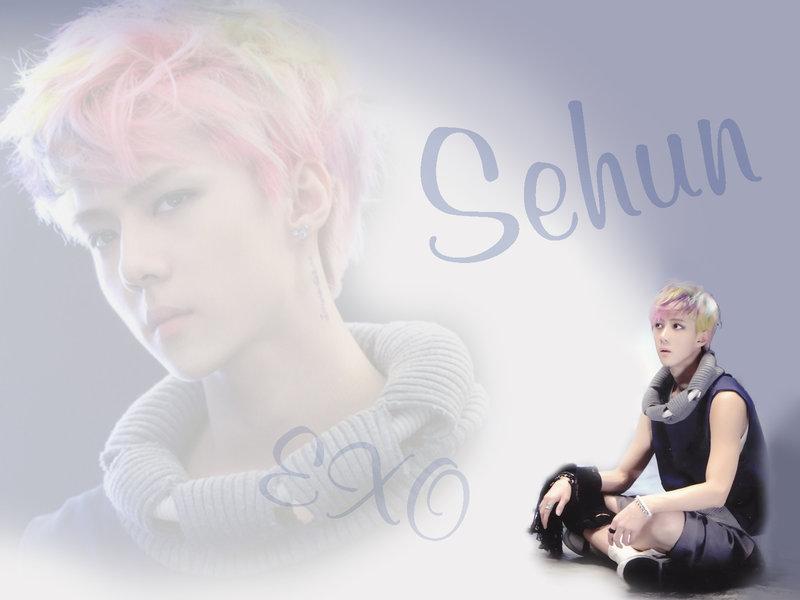 EXO Sehun Wallpaper - WallpaperSafari  EXO Sehun Wallp...
