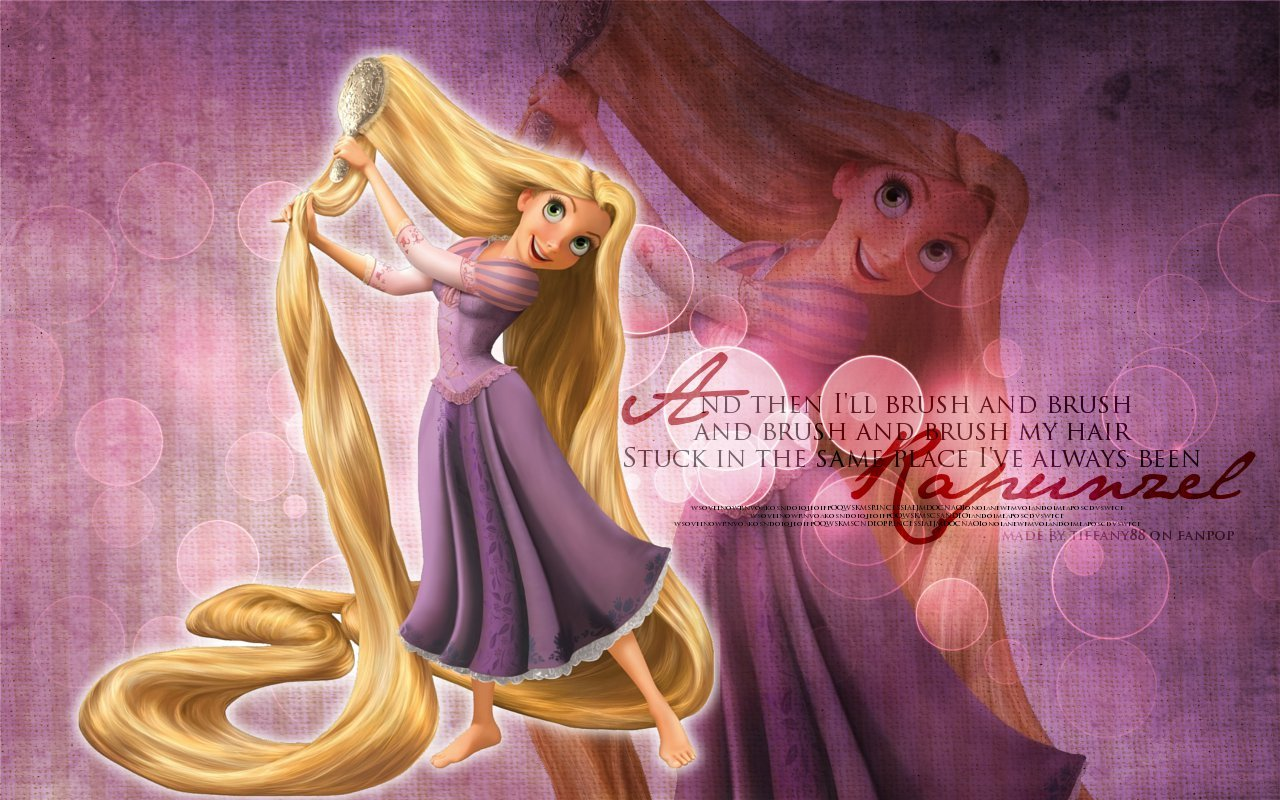Rapunzel   Tangled Wallpaper 26043041 1280x800