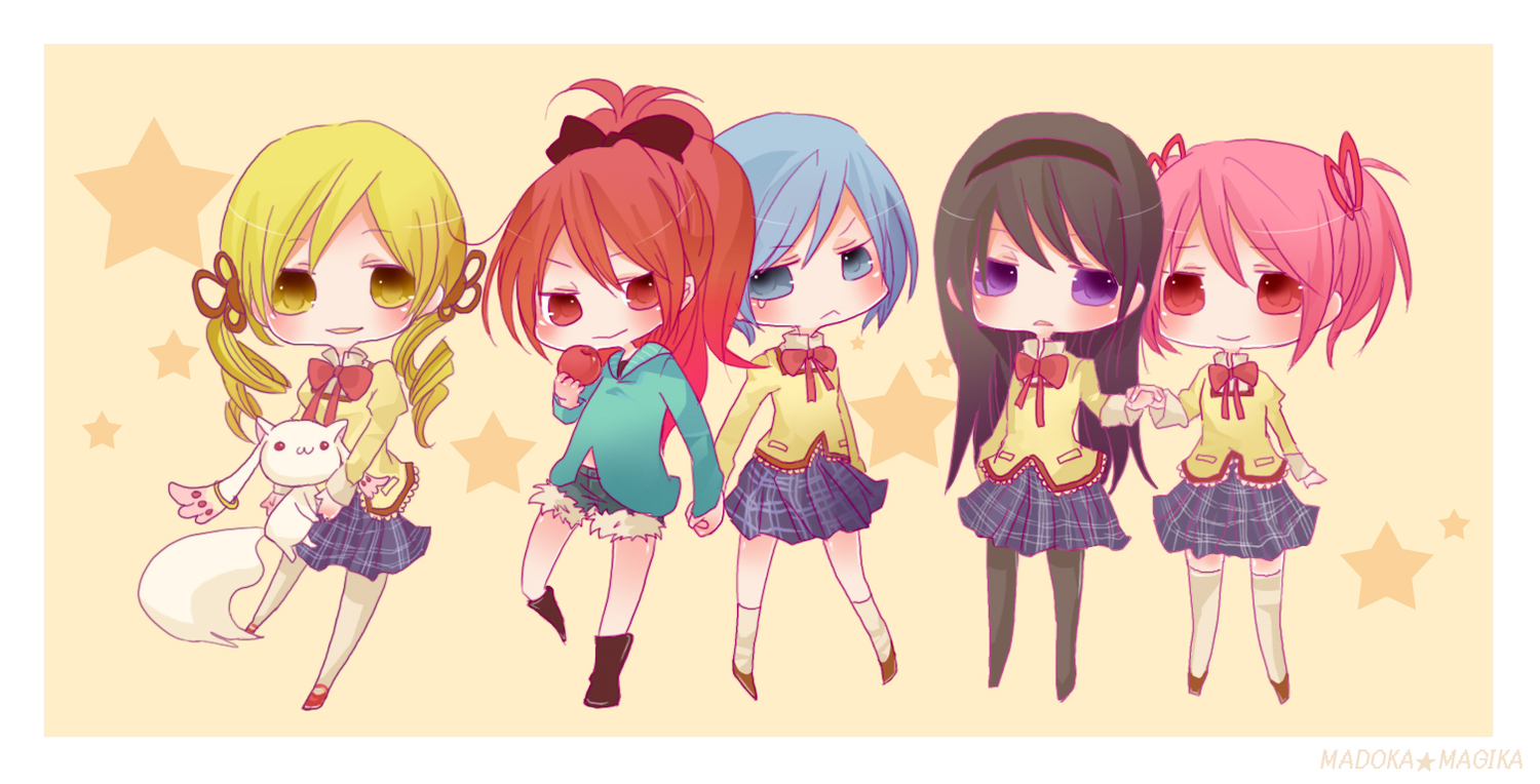 Beautiful Anime Chibi Girls Beautiful Chibi Anime Wide Wallpap 1500x764
