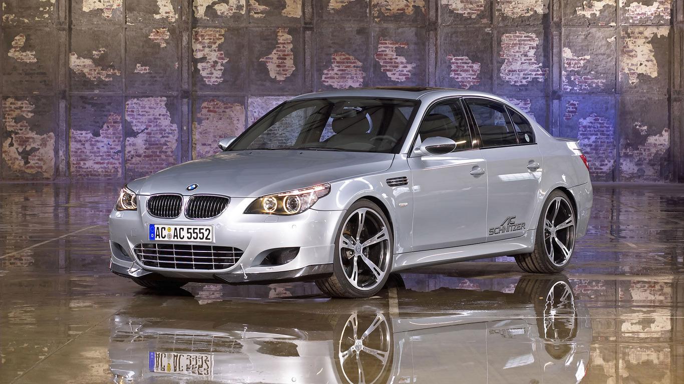 Ac Schnitzer BMW M5 Widescreen Wallpaper   16603 1366x768