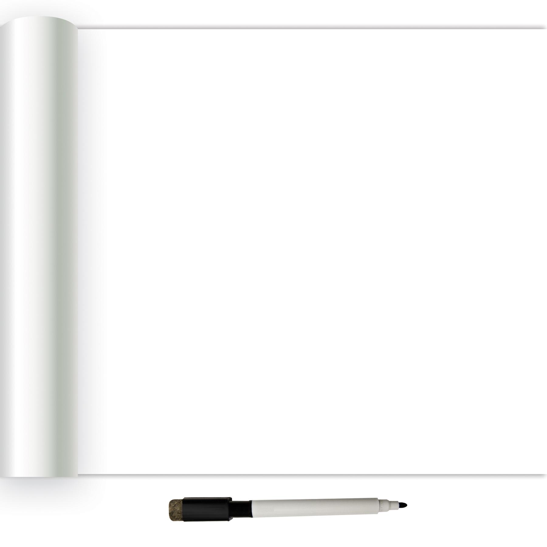InHome White Dry Erase Peel Stick Wallpaper   Walmartcom 1800x1800